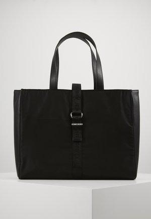 MODERN TWIST TOTE - Shopping Bag - black