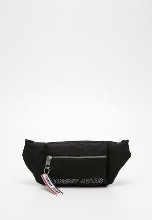 LOGO TAPE BUMBAG - Bum bag - black