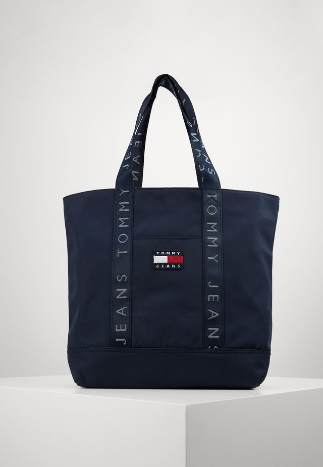 HERITAGE TOTE - Tote bag - blue