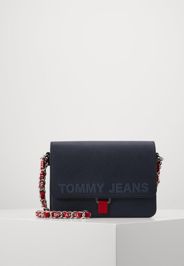 ITEM FLAP CROSSOVER N - Across body bag - blue