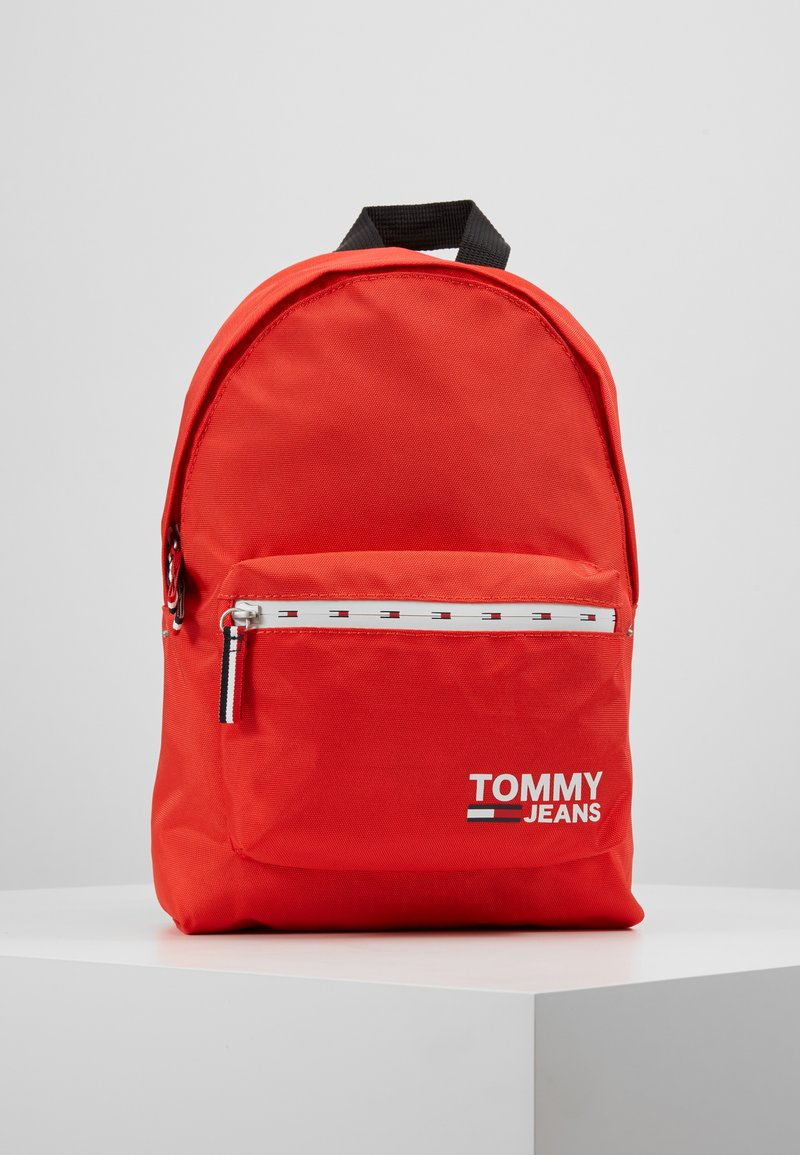 Tommy Jeans - COOL CITY MINI BACKPACK - Rugzak - red