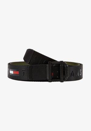 ROLLER WEBBING BELT - Belt - black