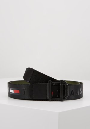 ROLLER WEBBING BELT - Pásek - black