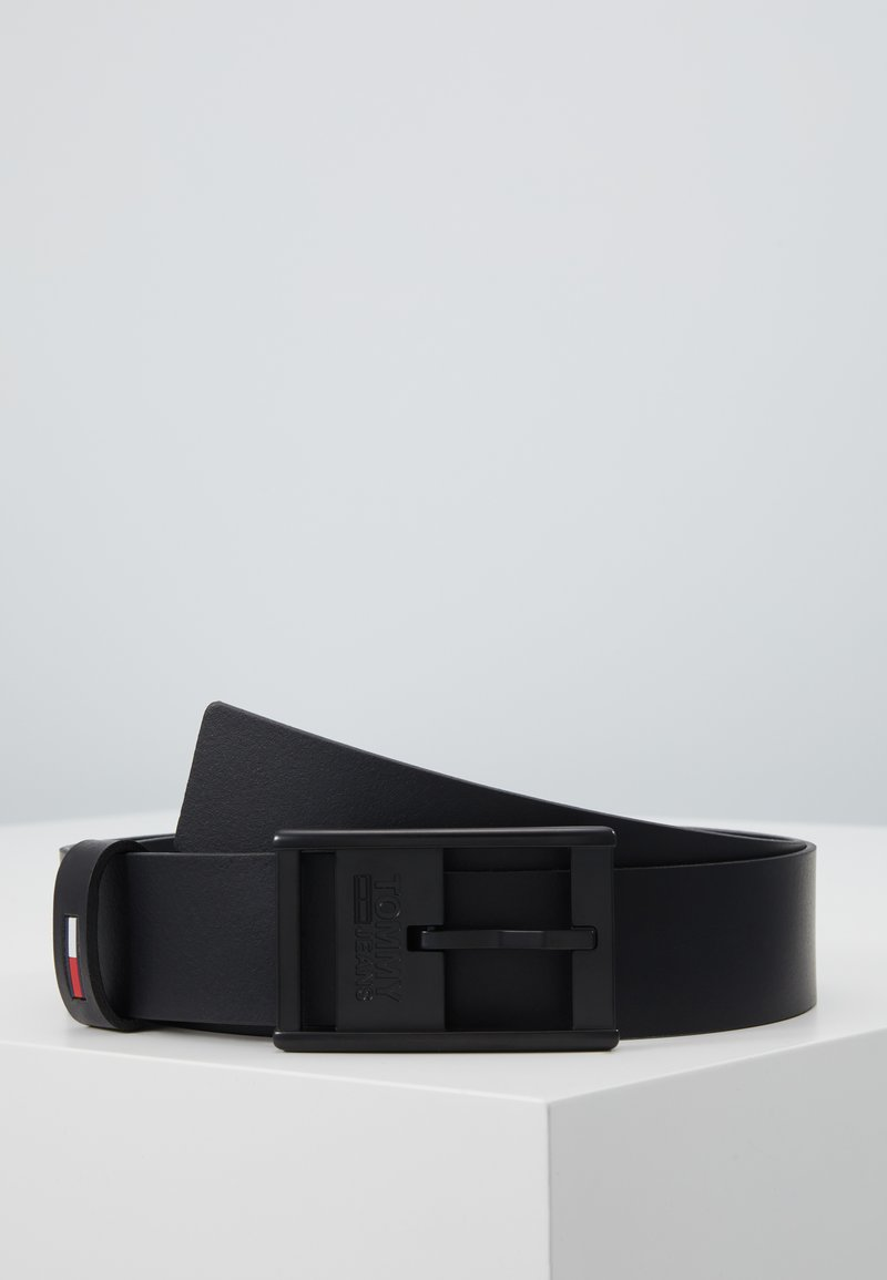 Tommy Jeans - INLAY BELT - Ceinture - black