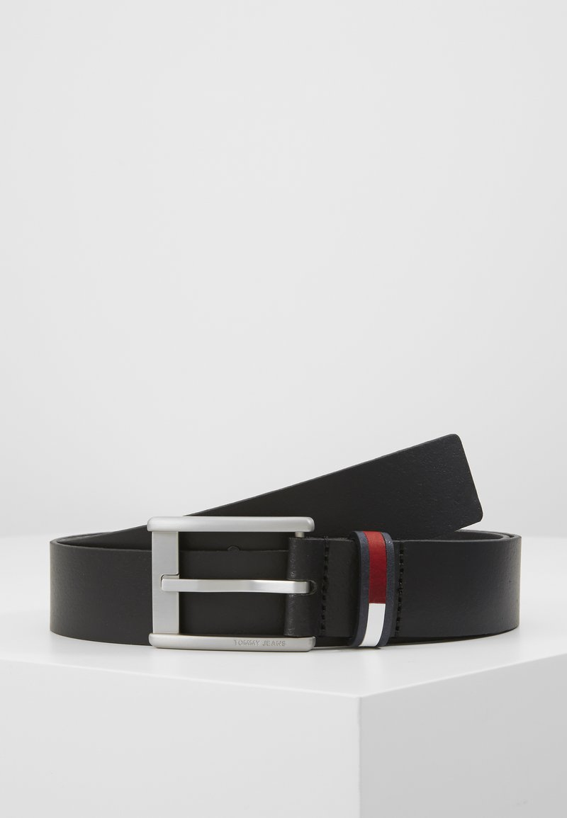 Tommy Jeans - CORP  BELT  - Riem - black