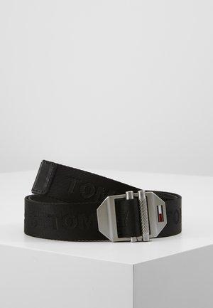 DOUBLE ROLLER BUCKLE - Belt - black