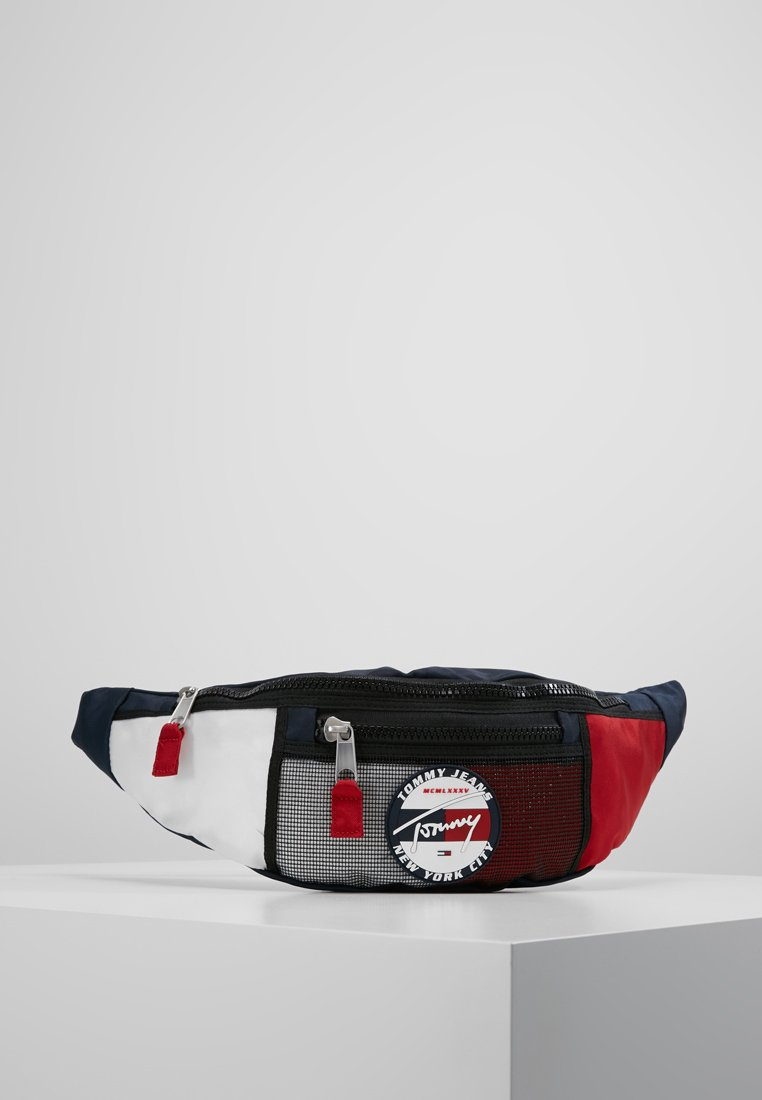 Tommy Jeans - HERITAGE BUMBAG CORP - Bum bag - blue