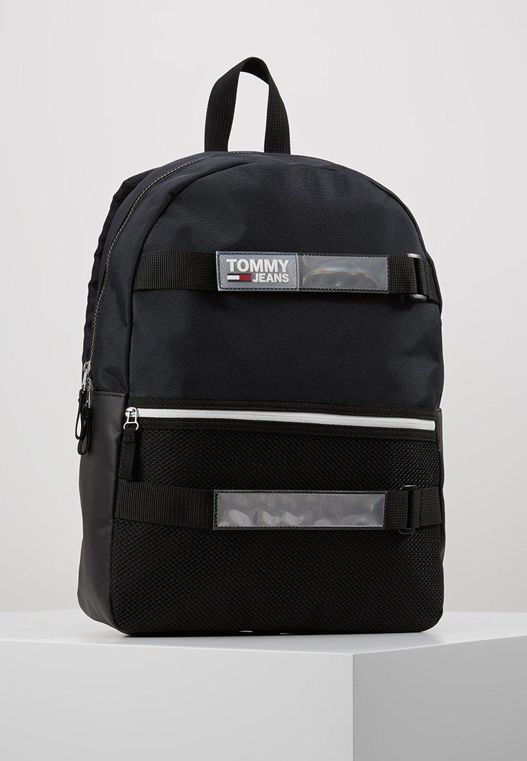 Tommy Jeans - URBAN SKATE BACKPACK - Sac à dos - black