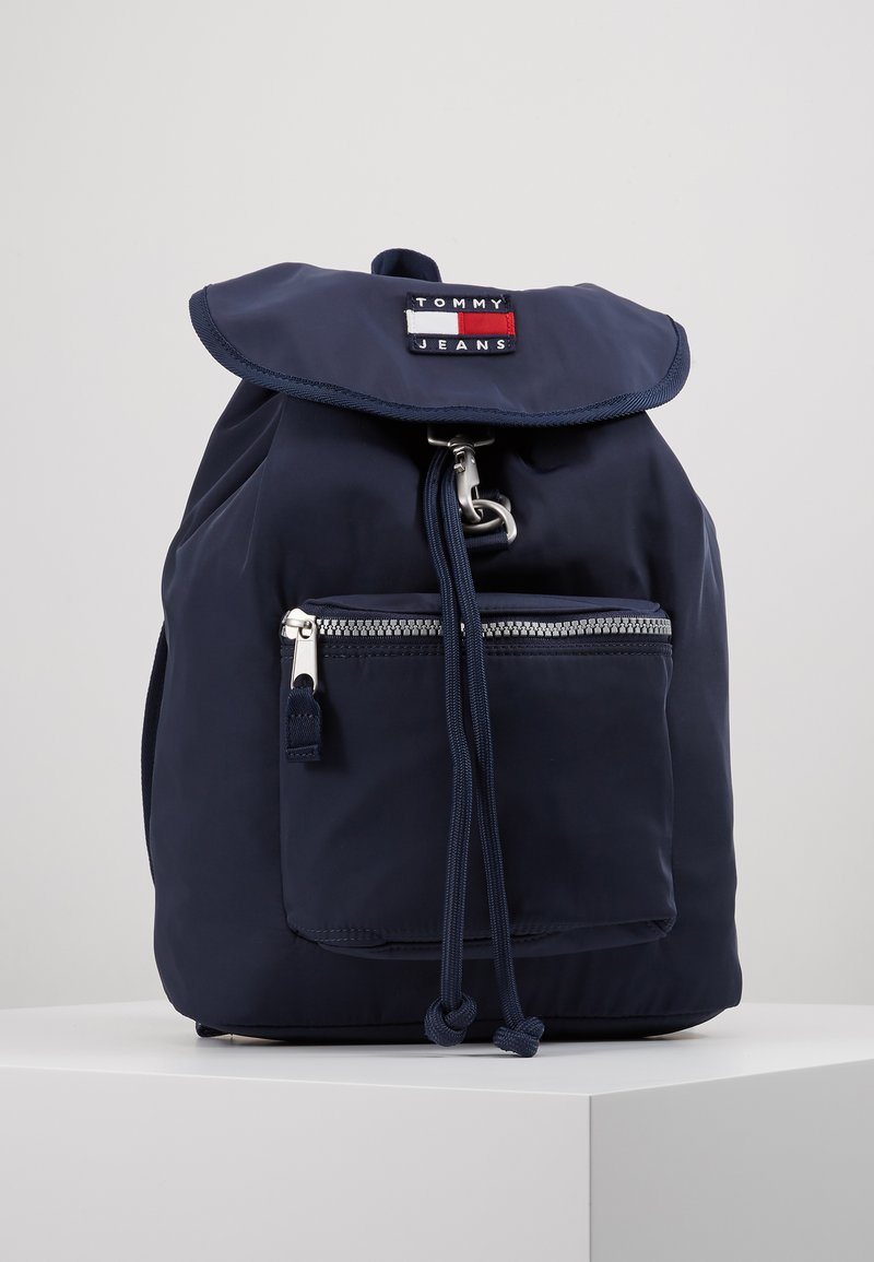 Tommy Jeans - HERITAGE BACKPACK - Reppu - blue