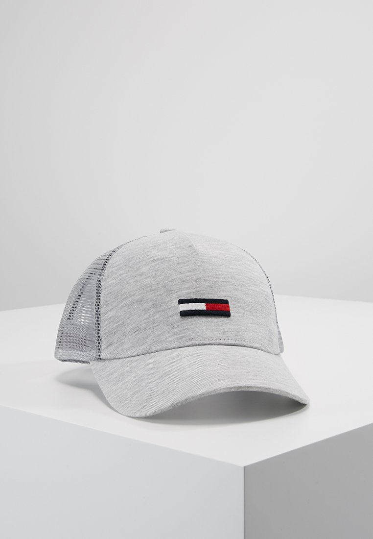 Tommy Jeans - TRUCKER FLAG - Casquette - grey