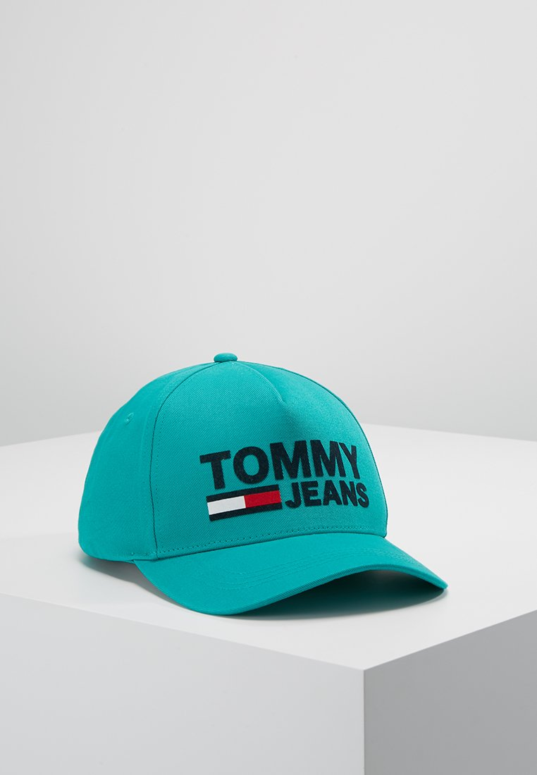 Tommy Jeans - FLOCK - Caps - green