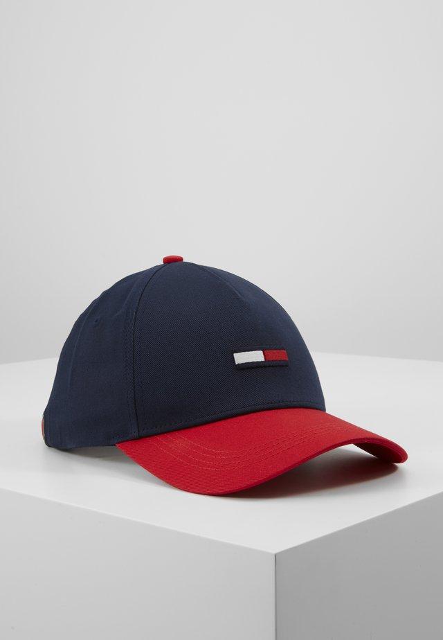 FLAG - Cap - dark blue/red