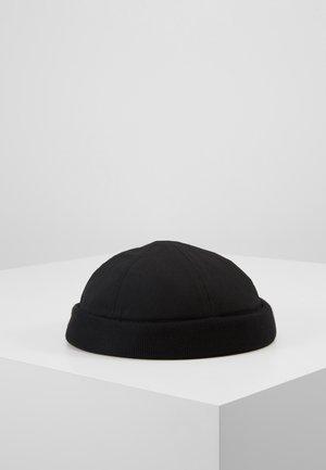 DOCKER FLAG HAT - Hatt - black