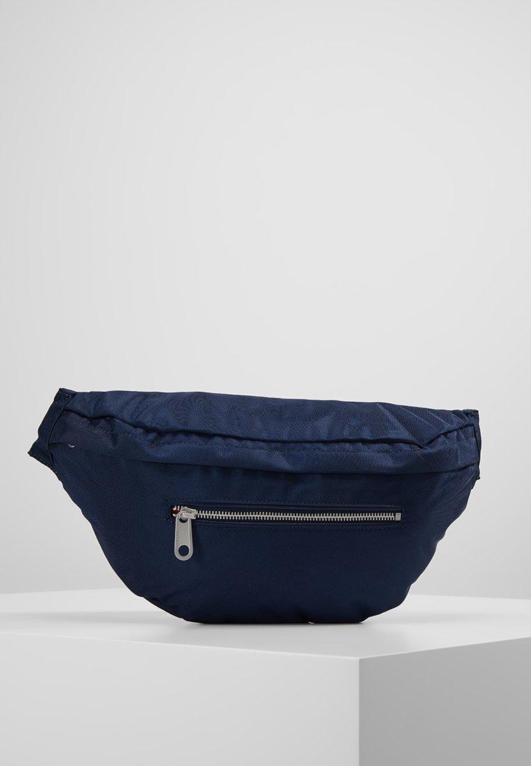 Tommy Jeans - LOGO TAPE BUMBAG - Bum bag - blue