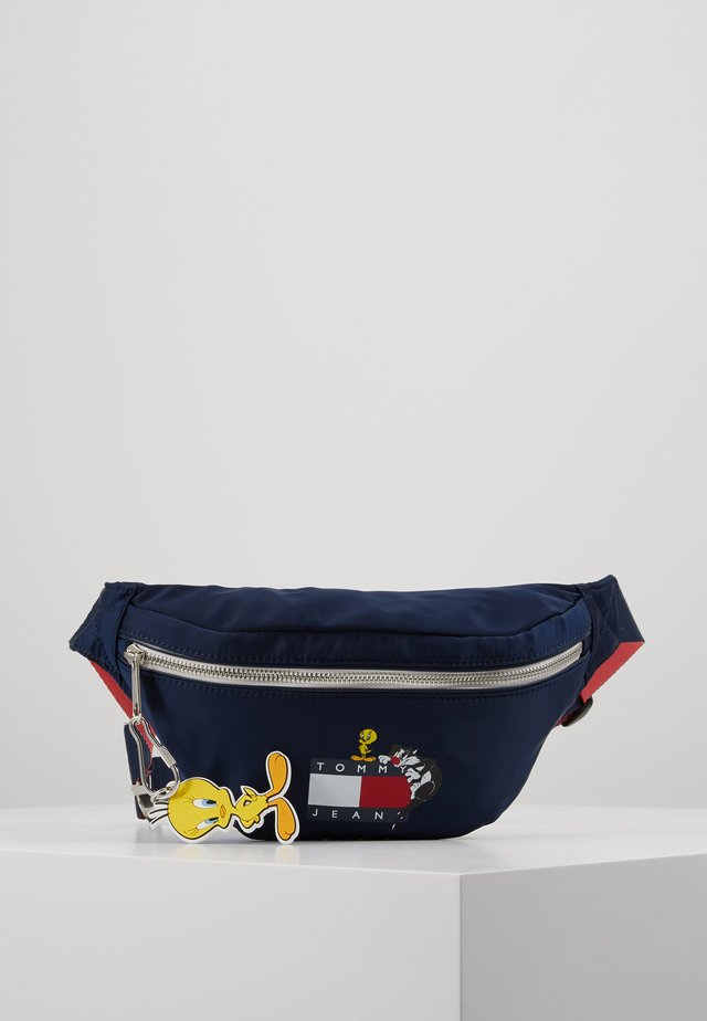 LOONEY TUNES BUMBAG - Ledvinka - twilight navy