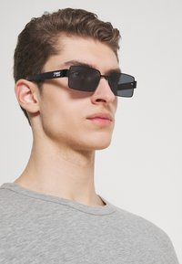 Tommy Jeans - Sluneční brýle - matt black - 1
