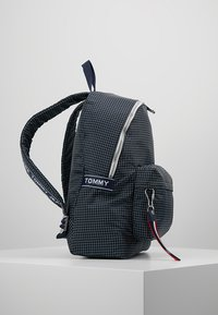 Tommy Jeans - LOGO TAPE RIPSTOP BACKPACK - Rucksack - blue - 3