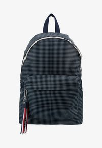 Tommy Jeans - LOGO TAPE RIPSTOP BACKPACK - Rucksack - blue - 7