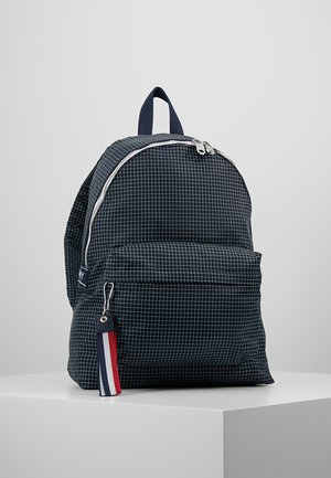 LOGO TAPE RIPSTOP BACKPACK - Plecak - blue