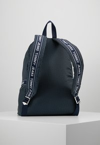 Tommy Jeans - LOGO TAPE RIPSTOP BACKPACK - Rucksack - blue - 2