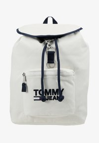 Tommy Jeans - HERITAGE BACKPACK - Plecak - white - 8
