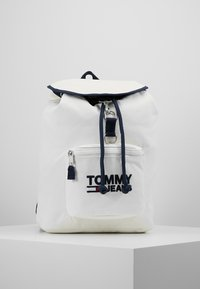 Tommy Jeans - HERITAGE BACKPACK - Ryggsekk - white - 1