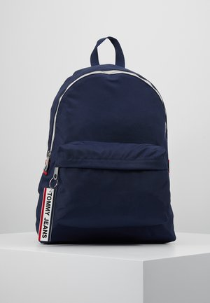 LOGO TAPE BACKPACK - Rugzak - blue