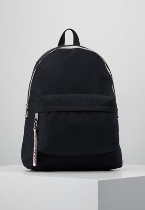 LOGO TAPE BACKPACK - Tagesrucksack - black