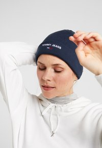 Tommy Jeans - SPORT BEANIE - Muts - blue - 3