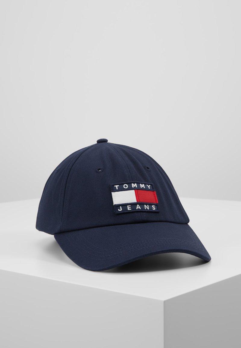 Tommy Jeans - HERITAGE FLAG CAP - Kšiltovka - blue