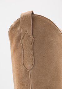 Toral - Cowboy/Biker boots - basket camel - 2
