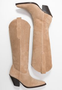 Toral - Cowboy/Biker boots - basket camel - 3