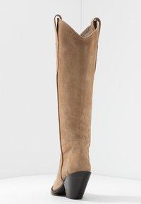 Toral - Cowboy/Biker boots - basket camel - 5
