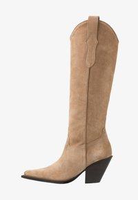 Toral - Cowboy/Biker boots - basket camel - 1