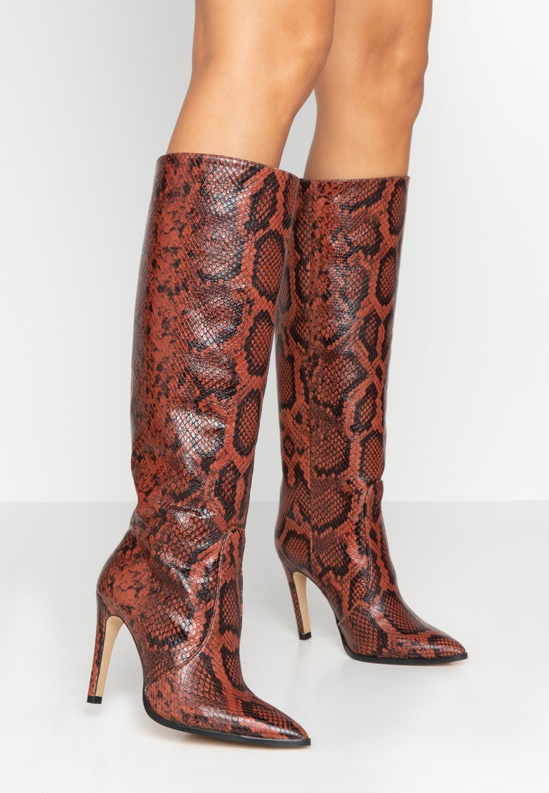 Toral - High Heel Stiefel - bosco