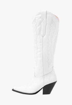 Cowboystøvler - blanko