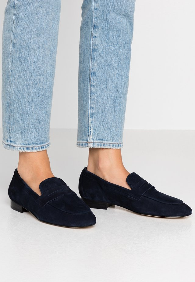 Loaferit/pistokkaat - marine blue