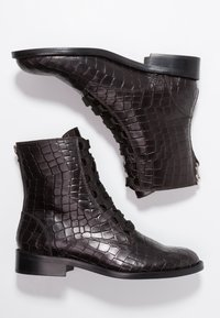 Toral - Lace-up ankle boots - black - 3