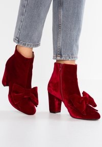 Toral - Ankle Boot - rojo - 0