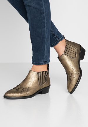 Ankle boots - metal