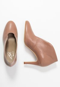 Toral - High heeled ankle boots - taupe - 3