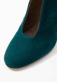 Toral - Kotníková obuv na vysokém podpatku - petrol - 2