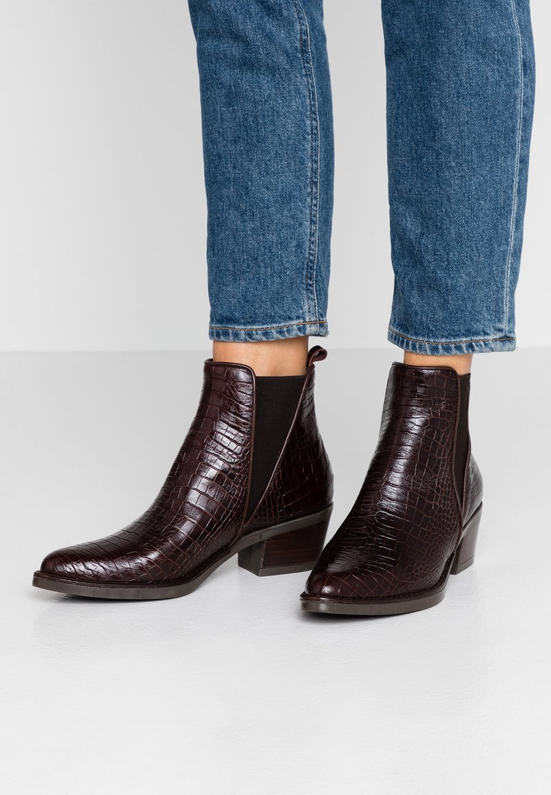 Toral - Ankle boots - coco marron