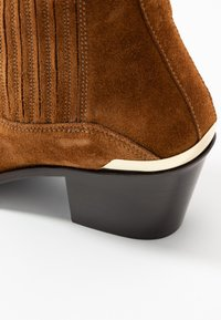 Toral - Cowboy-/Bikerstiefelette - basket cognac - 2