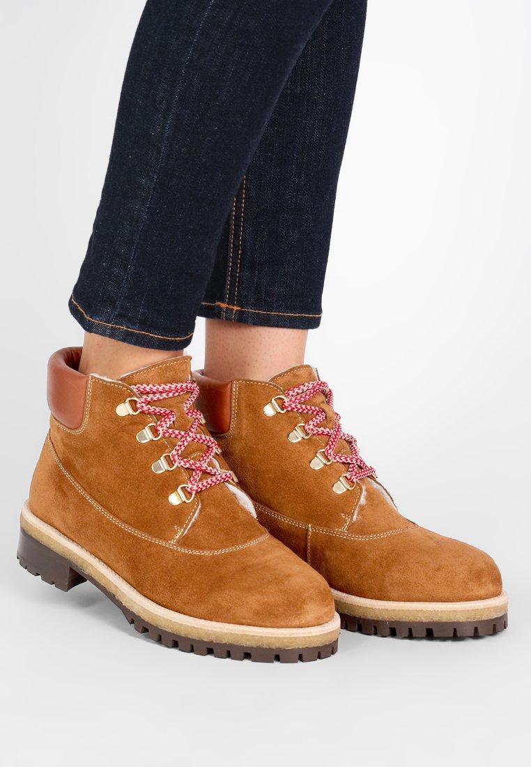 Toral - Lace-up ankle boots - basket cognac