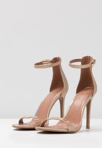 Topshop Wide Fit - WIDE FIT SUSIE 2 PART SKINNY - High heeled sandals - multicolor - 4