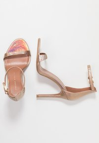 Topshop Wide Fit - WIDE FIT SUSIE 2 PART SKINNY - High heeled sandals - multicolor - 3