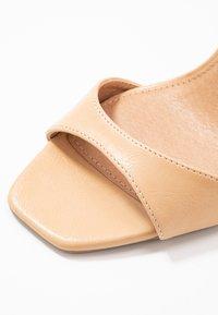 Topshop Wide Fit - WIDE FIT SILVY PART - Sandaletter - nude - 2