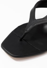 Topshop Wide Fit - WIDE FIT NINA MULE - T-bar sandals - black - 2