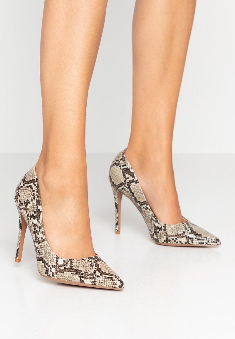 Topshop Wide Fit - WIDE FIT GRAMMER - High heels - multicolor